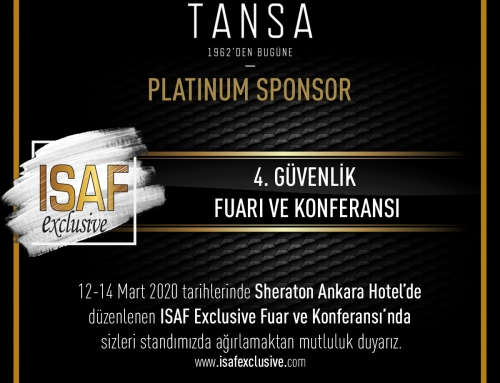 ISAF Exclusive 2020 Ankara Fuarı