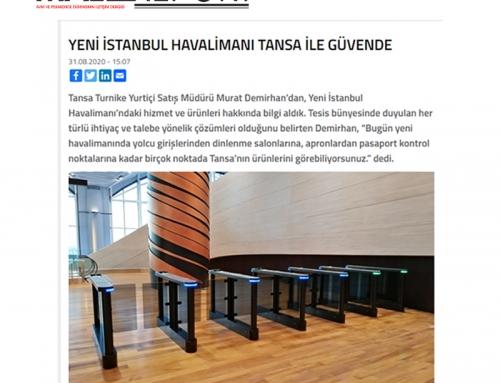 MallReport – Yeni İstanbul Havalimanı Tansa Turnike İle Güvende
